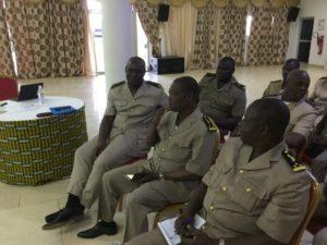 Le corps préfectoral des régions du  Tchologo et la Bagoué étaient représenté avec la présence des deux (02) préfets de région