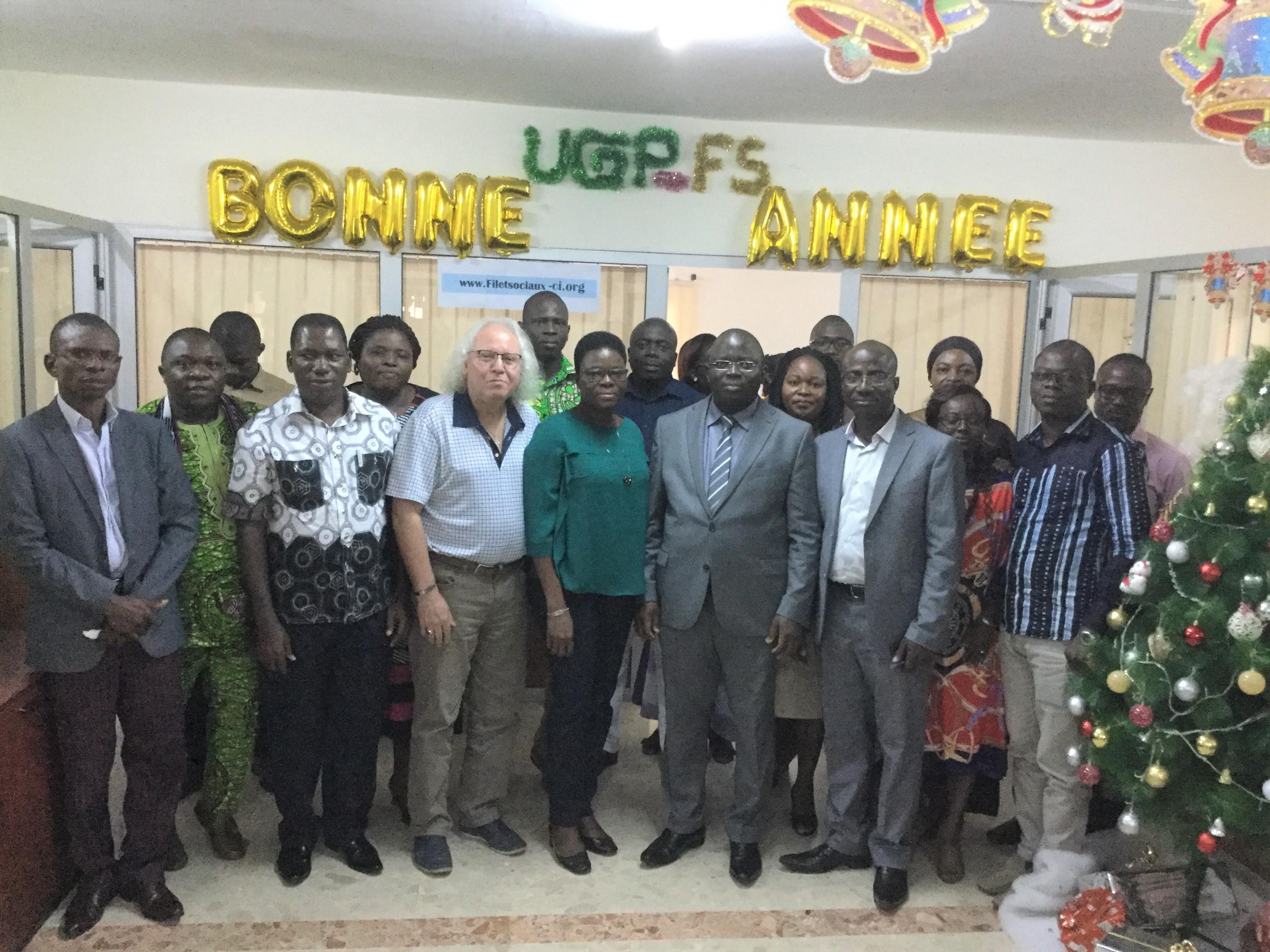 Visite de partage d'expériences : l'UGP reçoit une délégation togolaise