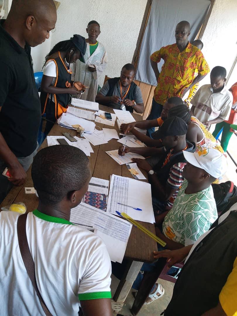 Démarrage du processus d'enregistrement et d'identification des 15 000 ménages bénéficiaires additionnels