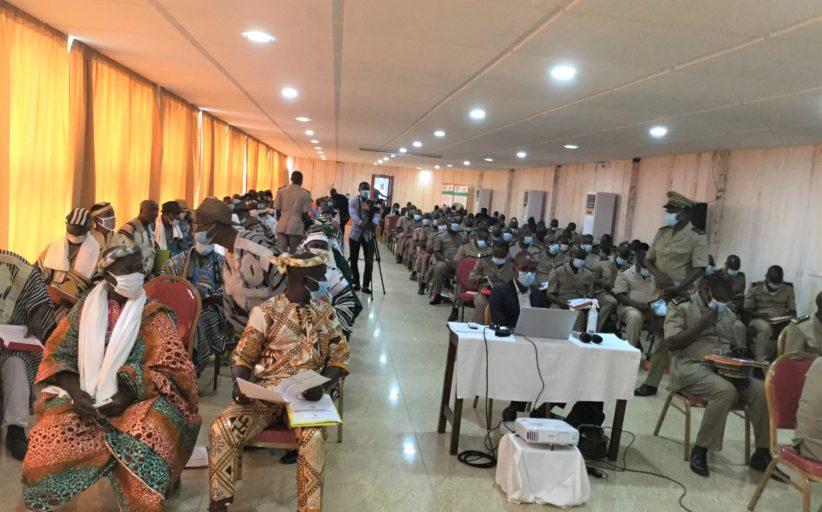 287 nouveaux villages bénéficiaires tirés au sort dans le cadre de l'extension de la couverture nationale du Programme Filets Sociaux Productifs