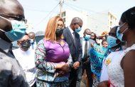 Visite de terrain : la Ministre Belmonde DOGO échange avec des bénéficiaires du Projet Filets Sociaux Productifs